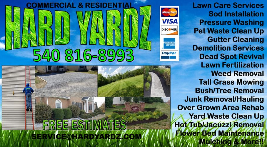 Landscaping Frederick county lawn care mowing bush trimming best landscaping company in Winchester