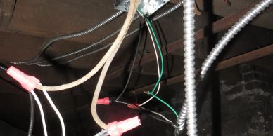 Faulty wiring, knob and tube wiring