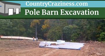 pole barn, pole barn excavation, pole barn home, pole barn construction