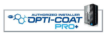 Opti-Coat Pro Plus can only be installed by certified technicians.