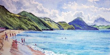 south frigate bay, st. kitts