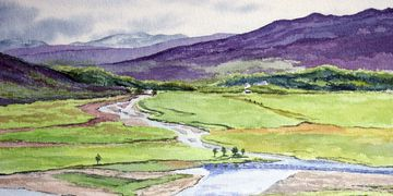 The River Dee above Braemar