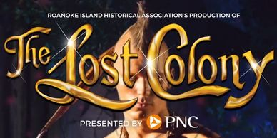 The lost colony logo