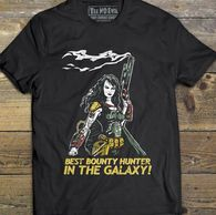 Erica Fett cosplay girl Boba Fett t shirt star wars by Tee No Evil star wars boba fett cosplay female boba fett