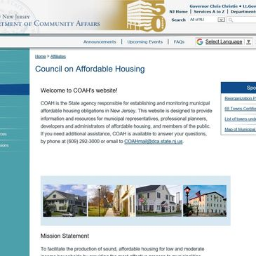 ­  Council on Affordable Housing
