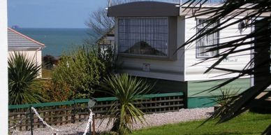 The Holiday Caravan at Blue Waters Holiday Apartments Goodrington Paignton