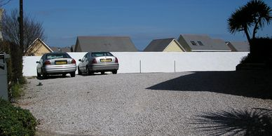 Car parking at Blue Waters Holiday Apartments
