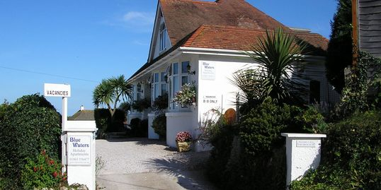 Blue Waters Holiday Apartments at Goodrington Sands in Paignton Devon