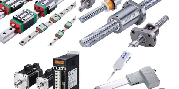 Servo motor,Linear guideway, Hiwin, Linear motor, ball screw, bearings, stepper motor in Florida