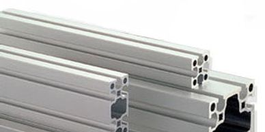 ALUMINUM EXTRUSIONS, T-slotted aluminum extrusions and accesories for creating robot enclosures