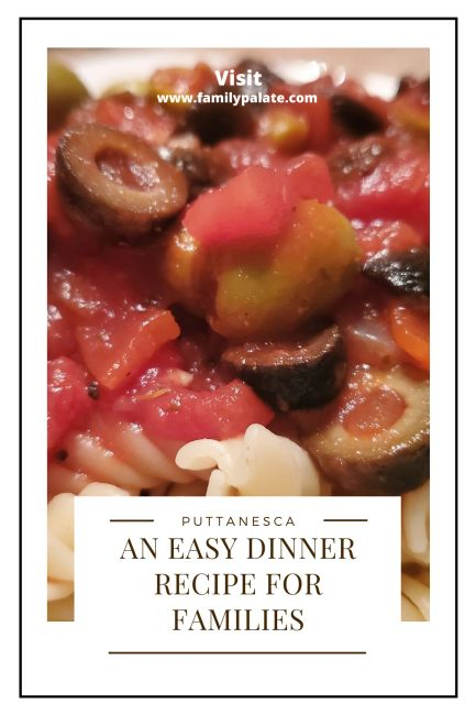 an easy dinner recipe for families, dinner idea for tonight, quick and easy Italian pasta recipe,