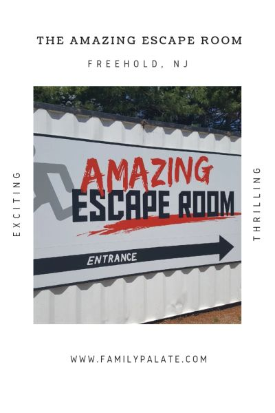 The Amazing Escape Room, things to do in Freehold, NJ, fun around the jersey shore, family fun in NJ