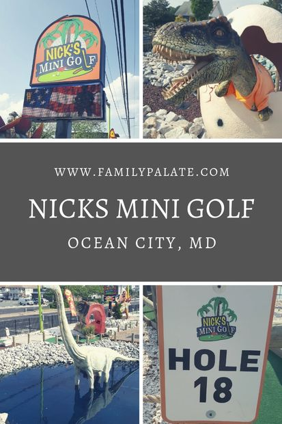 mini golf near me, nick golf, ocean city maryland, things to do in ocean city md, nicks mini golf