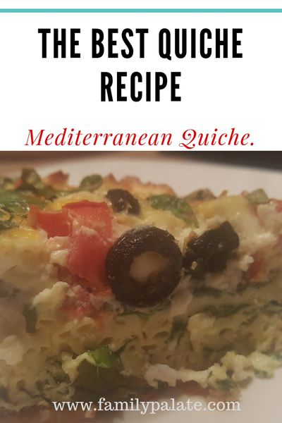 best quiche recipe, easy quiche recipe, vegetarian quiche, quiche recipe, easy spinach quiche