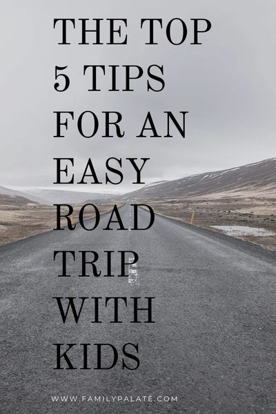 Road trip with kids, easy rod trip with kids, tips for an easy road trip with kids
