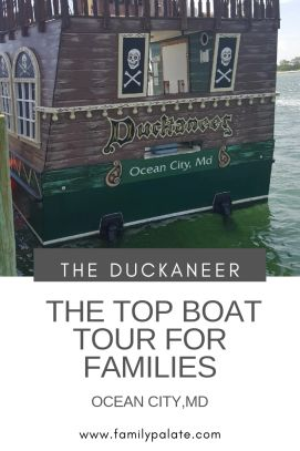 Duckaneer, OC Rocket, boat tours in Ocean City, boat tours near me, pirateship Ocean City, MD