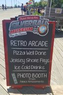 siverball museum arcade, food in asbury park, nj, food on the boardwalk in asbury park, pizza in nj