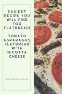 Tomato flatbread, easy flatbread, quick and simple flatbread, tomato mozzarella flatbread, easy food
