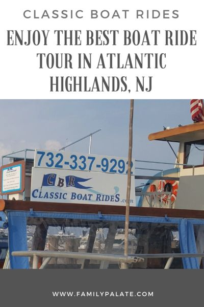 Classic Boat Rides, boat rides in Atlantic Highlands, sunset cruises near Nj shore, cruises in NJ