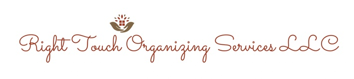 Right Touch Organizing Services  LLC
