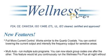 A in-depth explanation of the Wellness Pro Plus Features