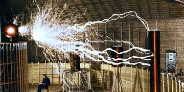 Nikola Tesla (1856-1943), electrical inventor, was born in Yugoslavia ,