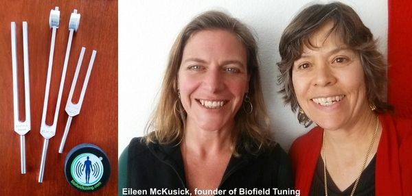 Biofield Tuning Eileen McKusick with Diane Stallings