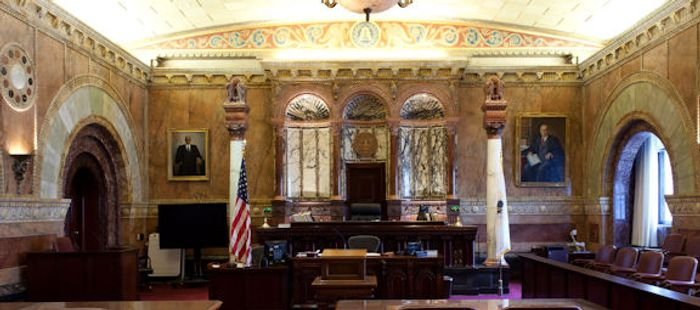 Million-Dollar Courtroom, Eastern District of Michigan, Detroit, Michigan