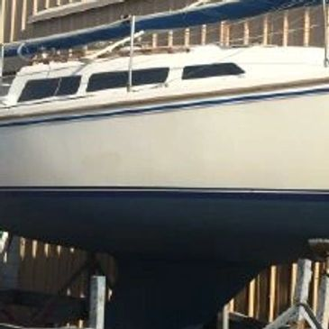 1986 Catalina 27 sailboat for sale