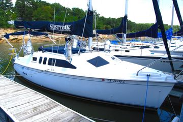 2001 Hunter 260 for sale best used sailboat on fresh water