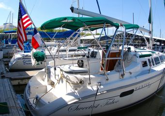 2002 Hunter 340 for sale best used sailboat
