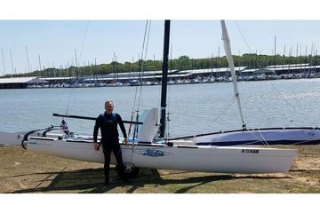 2007 Hobie Miracle 20 best used catamaran sailboat for sale in Texas