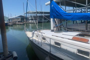 1981 Hunter 33 for sale best used sailboat