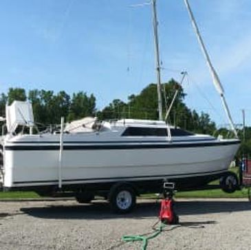 1998 MacGregor 26x sailboat for sale