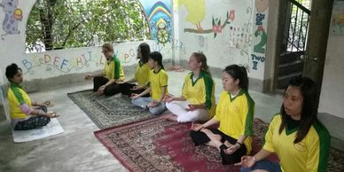 volunteer Yoga India