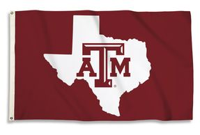 NCAA College State Outline Flags-College Flags-NCAA College Team Flags-Collegiate Flags-Buy-Shop