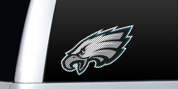 NFL Large Perforated Window Film and Decals | NFL Stickers | NFL Decals | NFL See Through Decals