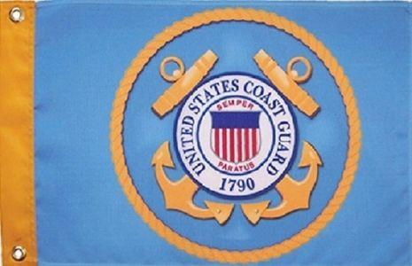 Small U.S. Military Grommet Flags for Boats and ATVs