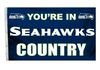 NFL You're in Seahawks Country Flag