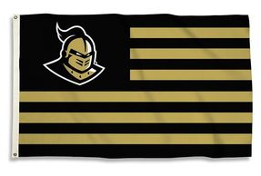 College Striped Flags-College Flags with Stripes-NCAA Collegiate Striped Flags