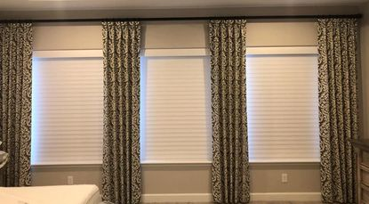 office window curtains simple office custom drapery solutions shutters in gilbert chandler mesa and queen creek