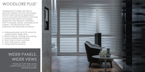 Woodlore Plus by Norman Shutters