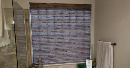 office window curtains contemporary office shades solutions shutters in gilbert chandler mesa and queen creek