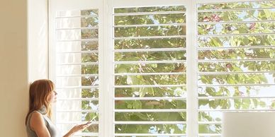 Hunter Douglas shutters in mesa