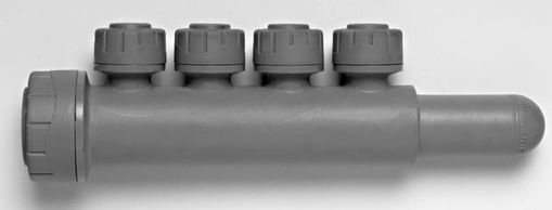 Single Sided Manifold 4 Port  PB7622104 Plumbing DIY in Northumberland DIY Suppliers