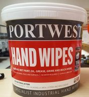 Portwest IW10 wipes Industrial wipes in Northumberland workwear shop Alnwick hans wipes for work