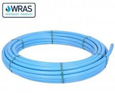 MDPE Blue Pipe 20mm Blue Polyethylene Pipe Blue Water Pipe 32mm