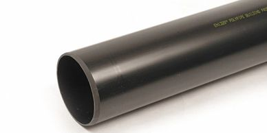 Cheap Black Weld waste pipe 3 Meter Pipe Polypipe