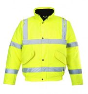 Yellow Bomber Jacket Cheap Yellow Jacket S463 Portwest Cheap yellow hi viz jacket HiViz in Belford