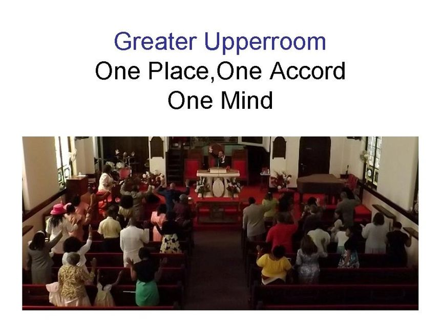 Greater Upperroom Apostolic Faith Church Worship Service
